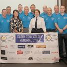 Nicola Golden and Garda Commissioner, Nóirín O'Sullivan along with the Organising Committee at the official launch of the Garda Tony Golden Memorial Cycle (Blackrock to Ballina) in The Crowne Plaza