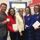 Students from St Vincent's Secondary School swept the boards at the annual Soapbox competition organised by the Europe Direct Centre and held in Drogheda Library