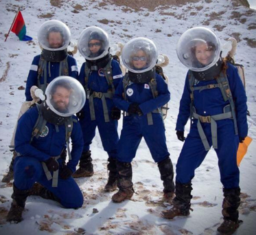 Budding astronaut Niamh Shaw has complete a simulate Mars Mission