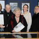 Aideen McArdle (left), Lea Hennessy, Constance Short, Gay Veale, Amanda Branigan, Rosetta Whyte and Art Agnew at the launch of The Dorothy Macardle Society's An Unrepentant Propagandist held in the County Library. Picture: Ken Finegan