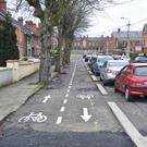 Directional arrows should be painted on cycle lanes to prevent cyclists from going the wrong way