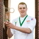 DkIT student Andrew Reddan has been crowned KNORR Student Chef of the Year 2017.