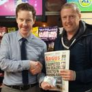 Declan Roe won €20 in Arthur's on the Newry Road