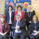 Dundalk Local Employment Service Team pictured with co-ordinator Siobhan Rankin and Frank O'Brien, Chairperson of Louth Leader Partnership