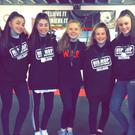 The 'War Dance' crew from Crystal Ice who are hoping to perform at the World Hip Hop championships in Arizona this summer