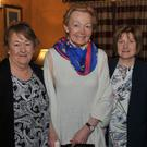 Former teacher May Toal (second from left) with Betty Rogers, Sally Cunningham and Joan Tiernan who attended the Castletown Girls NS reunion held in Sexton's
