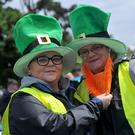 Megan Daly-Peters and Susan Daly at the Leprechaun Hunt