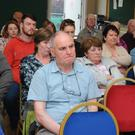 Some of the crowd at the Bishops Court residents meeting over the proposed ESB sub station