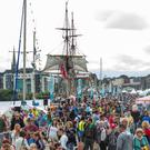 Crowds at the Maritime Festival