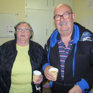 Rosa and Pete Laverty, residents for 30 years