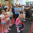 Part of the large attendance at the launch of the 'Summer Stars Reading Programme' held in the County Library. Picture: Ken Finegan