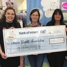 Houstons Staff: Rachel Curran, Paula Hanlon (The Maria Goretti Foundation), Julie Hanna (Store Manager), Stacey Markey and Sarah Farrell