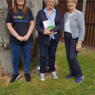 Pictured are Daphne Shackleton from RHSI, Ann-Marie Keane Global Impact Team eBAY, and Kathleen Manning, North Louth branch of Alzheimer Society
