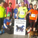 Fundraisers for Dundalk Dog Rescue take part in the Dundalk 10k earlier this year