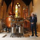 Pearse Lyons, founder of Pearse Lyons Distillery, Dublin's new boutique Irish Whiskey experience.