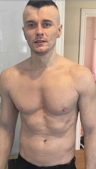 Baz Black without tattoos