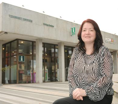 Dundalk Tourist Officer, Sinead Roche is delighted with the increase in visitors calling to the tourist office in Market Square