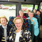 Passengers onboard the Louth Local Linkbus service