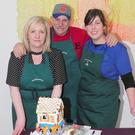 Star Bakers, Cllr. Anne Campbell and Paddy Mac, with Deborah Conlon of Conlon's Food Hall