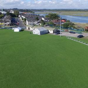 Sean O'Mahony's GFC ground on the Point Road