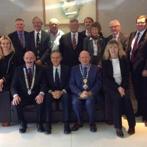 Members of Newry and Dundalk Chamber meet a House of Commons Select Committee to discuss Brexit