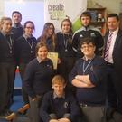 O'Fiaich students took part in the 'Create the Great in You' programme