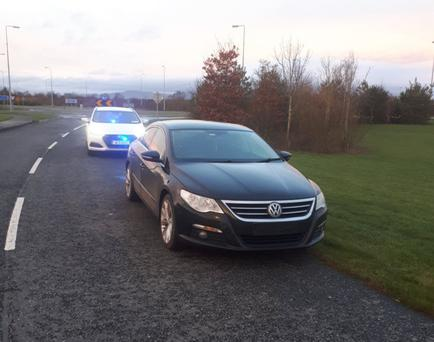 Gardai have continued their online campaign highlighting road traffic offences in the local area
