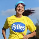Collette O'Hagan who will run an Ultra Marathon for her grandson Charlie