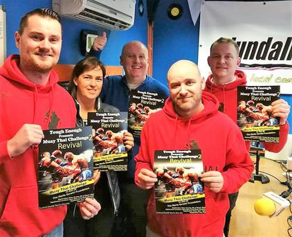 Members of Dundalk Thai Boxing Club promote their new charity event