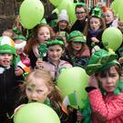 'From the Top' performers at the St. Patrick's Day Parade held in Dundalk. Picture: Ken Finegan