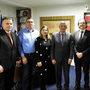 Sean T O'Reily, fifth from left, with legal colleagues in Kosovo