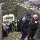 A number of local groups were granted a tour inside the historic King John's Castle