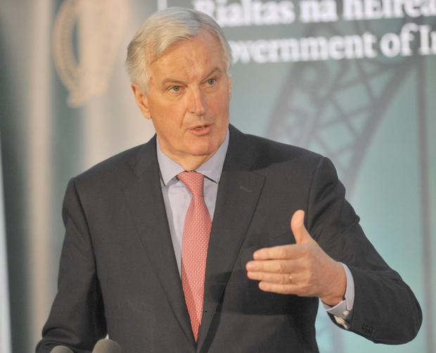 The European Union's chief Brexit negotiator Michel Barnier