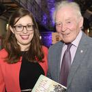 Síobhra Aiken and Dr. Rory O'Hanlon at the launch of the book 'The Men Will Talk to Me' held in the Oriel Centre, Dundalk Gaol. Picture: Ken Finegan