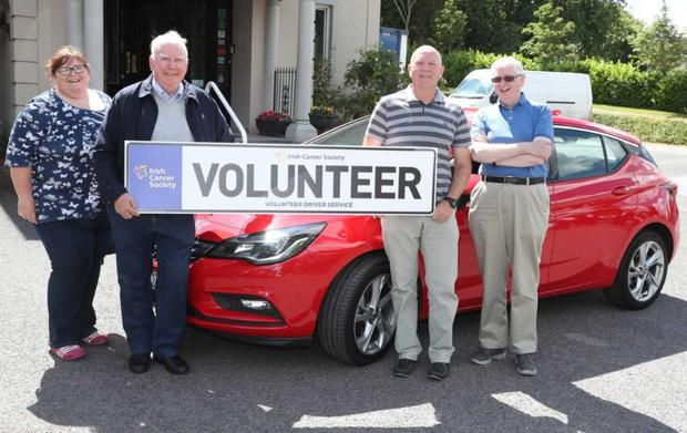 The Irish Cancer Society launched a free patient transport service for patients in Louth