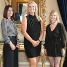 Pictured from Dundalk are (L to R) Sharon Browne, Emma Fitzpatrick and Lisa Pepper at the Peter Mark Long Service Awards