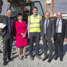 Irish Life turned the sod on the site of their new Customer Centre at Finnabair on Friday last