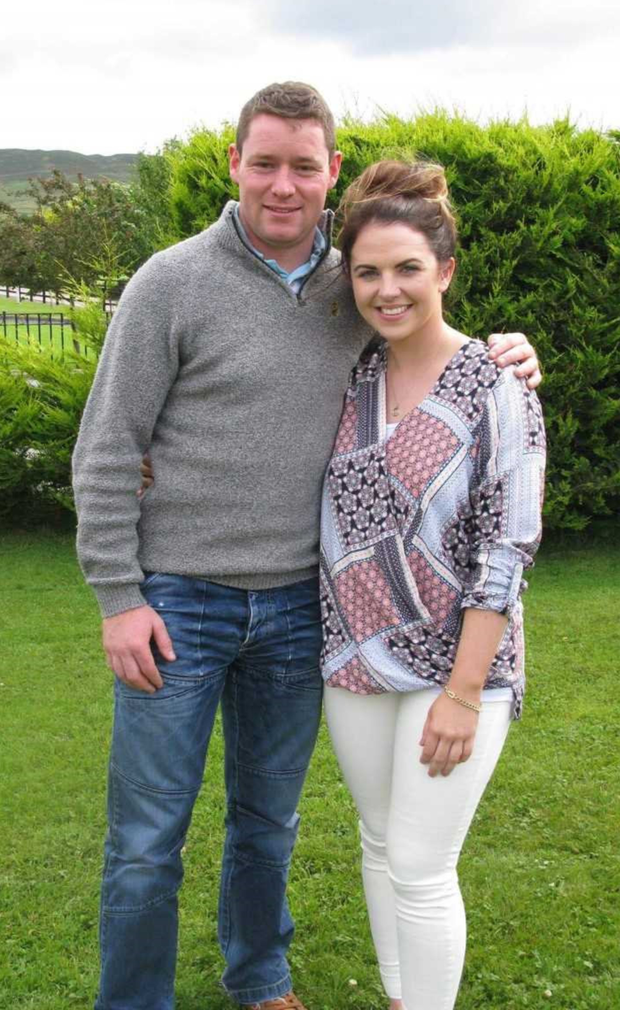 Joseph Woods and Katie Bailey who have been invited to meet Pope Francis during his upcoming visit to Ireland