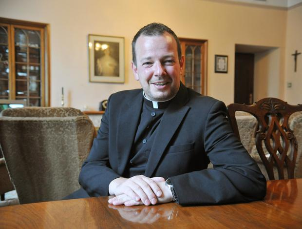 Rev. Fr Mark O'Hagan who has been appointed Parish Priest of St Patrick's, Dundalk