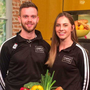 Luke Judge and Evelyn Garland, Simply Fit Food