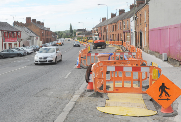 Works along Hill Street by Irish Water to overhaul ageing water network