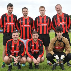 The Canters team who took part in the Fintan Goss 5-a-side and family fun day held in Ravensdale. Picture: Ken Finegan