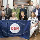 The SS Dundalk Centenary Committee, back from from left, Jim Kerley, Marie Agnew, Alan Bogan, Charlie McCarthy, Damien Higgins, Brendan McQuaid and Kevin O'Neill. Front row, Audrey Tuite, Betty Mulholland, Anne Howard and Jacinta Kerley