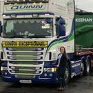 Ciara Tinnelly who will be travelling across Europe as part of the convoy