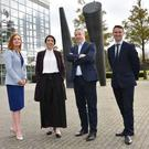 Jayne Brady, Kernel Capital; Anita Finnegan, CEO, Nova Leah; Niall McEvoy, Enterprise Ireland & David McGeough, Bank of Ireland.