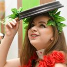 Sarah Cooney-McCann who took part in the St. Vincent's 'Fashionably Talented' show held in DkIT
