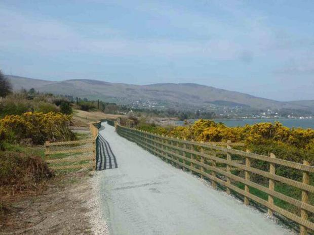 The existing Omeath-Carlingford Greenway has been very popular
