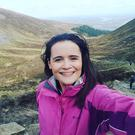 Tara Scully preparing to take on the Three Peaks Challenge to raise funds for SOSAD and the Kevin Bell Repatriation Trust