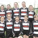 The Quay Celtic FC U11 team who took part in the Louth School Girls Football League