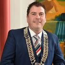 Liam Reilly is back as council chair